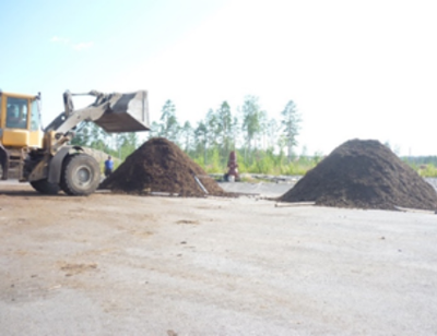 Composting field 1