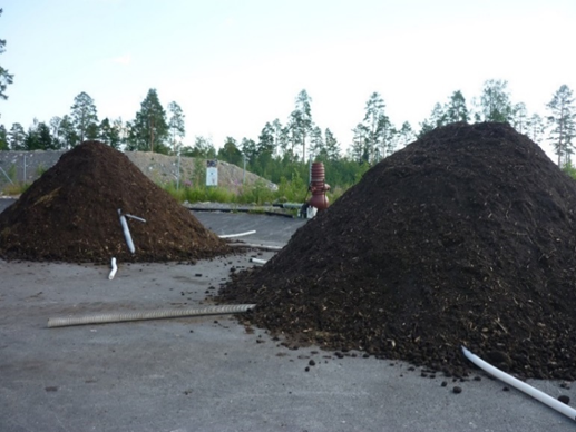 Composting field 2