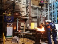Small scale chamber tests were carried out at Karhula Foundry in Finland on 24-26.4.2019 by AX and Meehanite